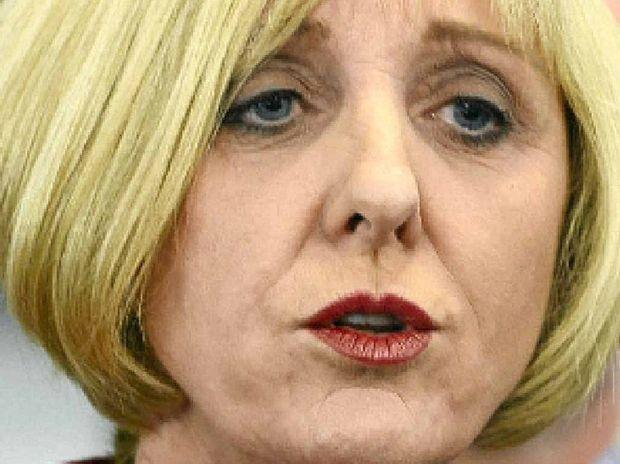 PRAISE: Minister Tracy Davis.