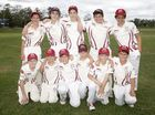 Junior Cricket; Under 14: Central Maroons versus Central Whites.
