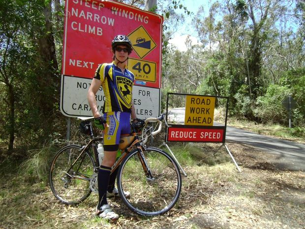 Sam Anderson rode over 400 kilometres in five days to raise funds the West African Food Crisis.