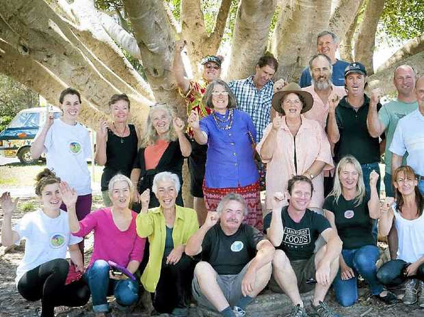 BIRTHDAY CELEBRATIONS: The founding members of Byron Farmers' Markets which turn 10 on December 6.