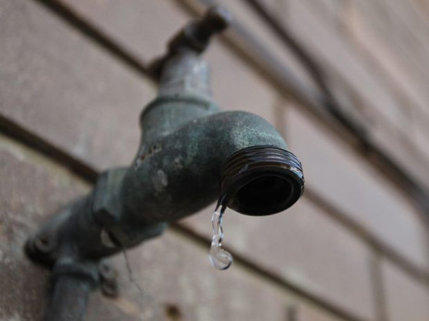 SAVE WATER: Wide Bay Water Corporation executive manager Mark Vanner said it was not certain the rain would fall over Lenthalls Dam's catchment areas.