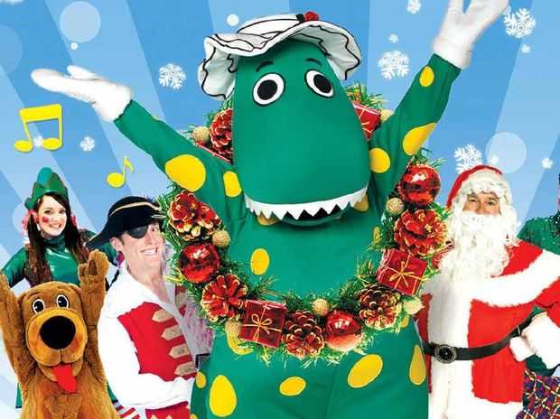 FESTIVE CHEER: Dorothy the Dinosaur and friends will be performing at the Civic Centre in December.