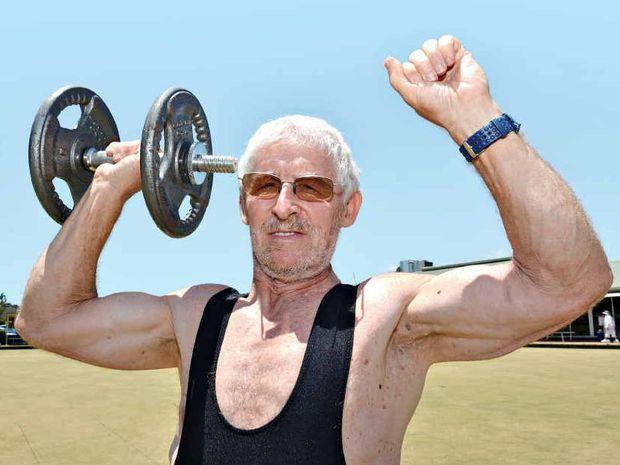 Derek Mason has turned to powerlifting to help battle Parkinson's disease.