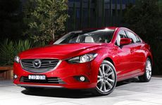 The new range-topping Mazda6 Atenza sedan.
