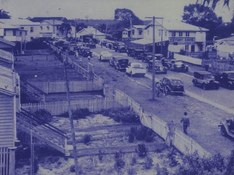 A photo of Duporth Avenue taken sometime in the 1940s.