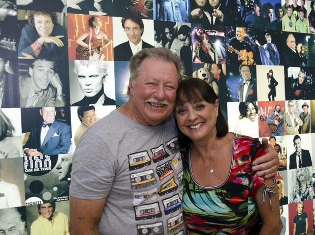 COOLY ROCKS announced its ambassadors for the 2013 festival are two icons of Australian entertainment, Denise Drysdale and Lucky Starr. Photo: Contributed