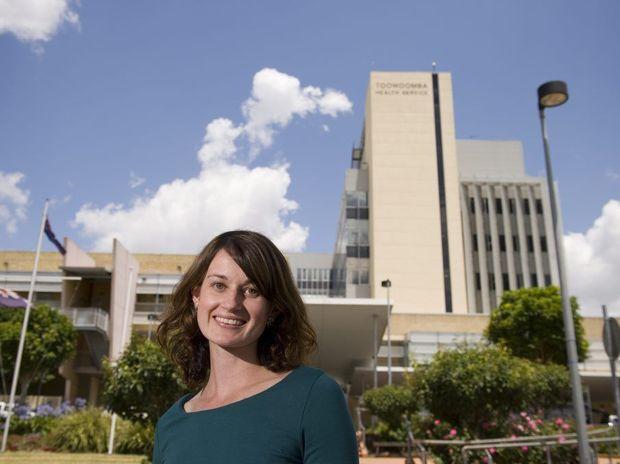 Toowoomba Hospital Foundation research scholarship recipient Melissa Kaltner.