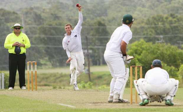 WELCOME BACK: English import Alex Welsh (bowling) returns to strengthen Laidley this weekend.