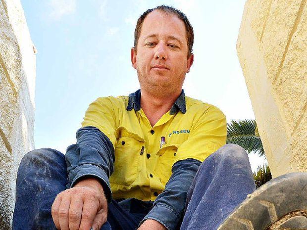 Rob Kent, Mackay apprentice.
