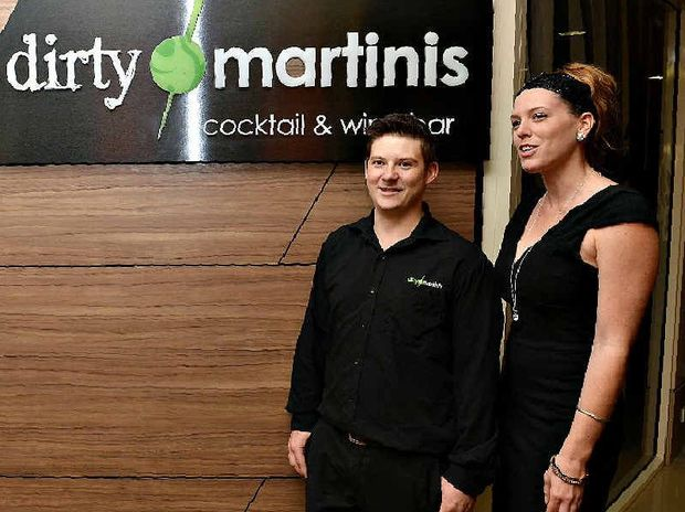 Staff members Kyle Cope and Sarah Devin understand that nightspots like Dirty Martinis have overheads to cover. The club's marketing manager said they only charged more than $10 entry for special events.