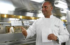 P&O Cruises Pacific Dawn executive chef Alex Keck.