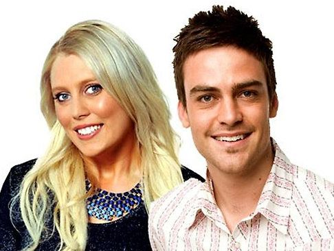 Sydney radio hosts Mel Greig and Michael Christian