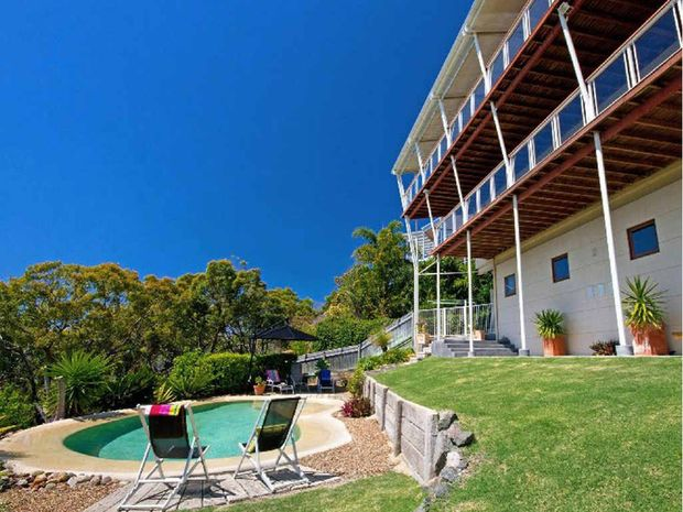 TOP END: If you have just won lotto this is the house for you. This home with magic ocean views on the prestigous Cooloola Dr is listed at $1.9million. Check out all the property action today in Domain.