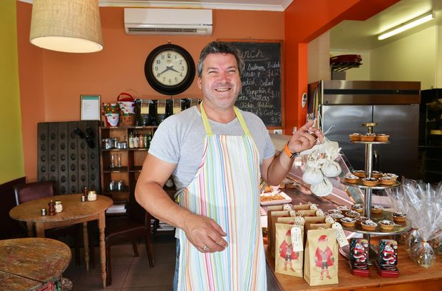 Lyndon Wittingslow from the Empire Organics and Cafe in Nambour.