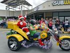 Bikers set off on the 2012 Ulysses Club Lockyer Branch toy ride. Photo: Claudia Baxter / The Queensland Times