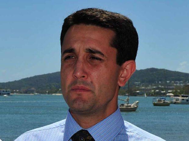 Local Government Minister David Crisafulli.