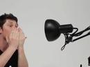 Robotic lamp 'aware of its environment'
