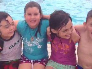 Kids love new pool