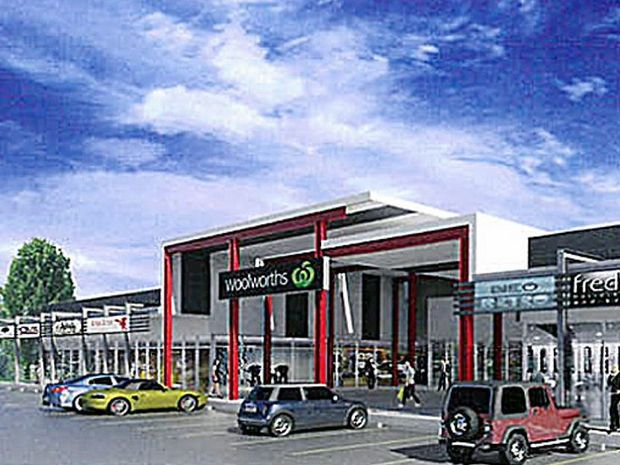 Councillors have approved the building design for a Torquay shopping centre.