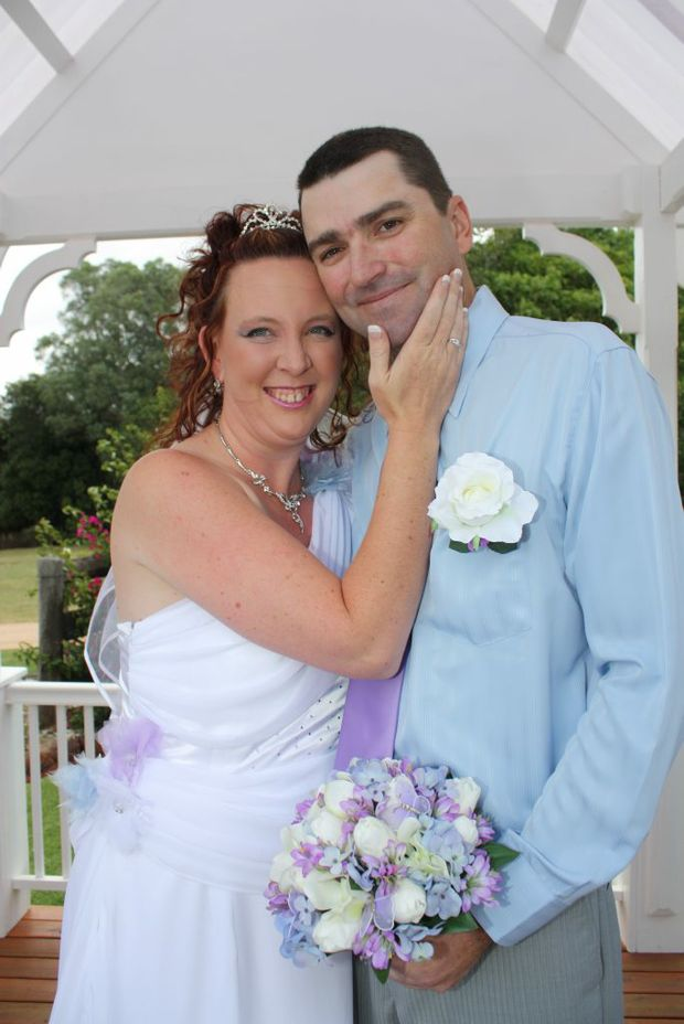 SPECIAL DAY: Kingaroy couple Sharon and Len Davey tied the knot on 12/12/12 after 12 years together.