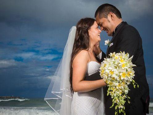 Jane and Selau Mailata were married at Yamba on 12/12/12