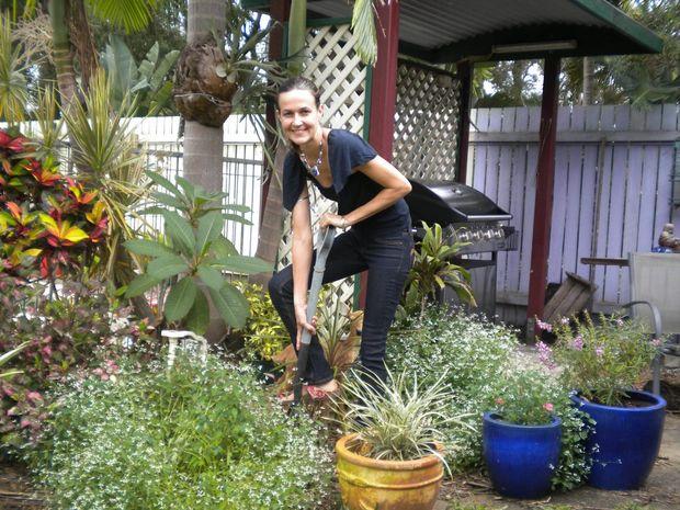 Gardening columnist Chelsea van Rijn.