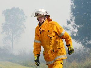 Noosa North Shore fire