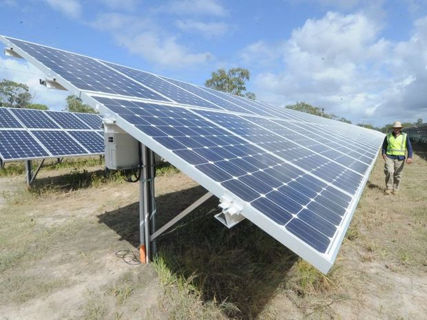 Coffs Harbour City Council has set a target of using 100% renewable energy by 2030.