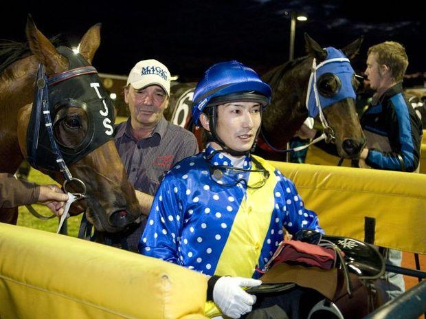 Jockey Nozi Tomizawa will partner Typhoon Red at Clifford Park on Saturday.