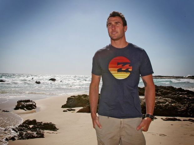 Joel Parkinson at Snapper Rocks Photo Blainey Woodham / Daily News
