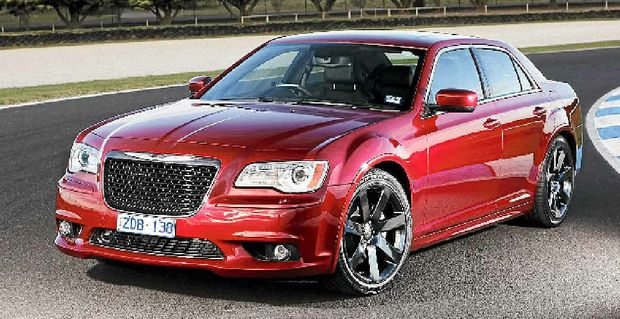The Chrysler 300C SRT8.