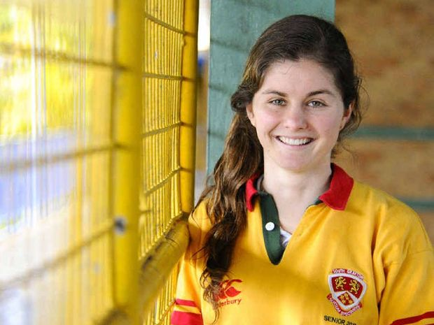 South Grafton High School dux Talia Rose is aiming for a university course in bio-medical science, bio-medical engineering or an advanced science degree majoring in neurology. Photo: JoJo Newby