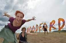Woodford 2012 is feeling like it will be a beauty. Cassidy Maier, Mandi McLaren and Ushi Tarissan. Photo: John McCutcheon / Sunshine Coast Daily