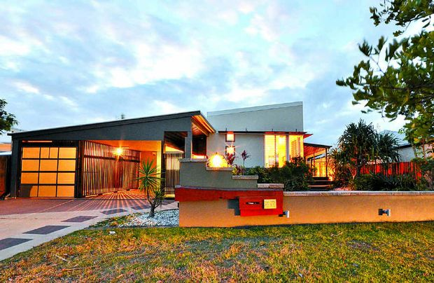 Attention seeker: An architecturally-designed Mudjimba beach house at 22 North Beach Pl sold with Mark McGill of Amber Werchon Property