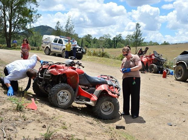 Quad bike fatal on Amamoor Creek Road Amamoor.