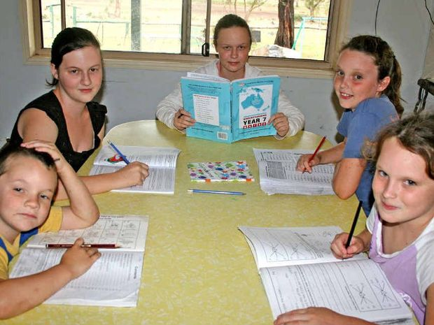 Billy, Darcy, Morgan, Becky and Tara Clegg love the flexibility and education they receive from home schooling.