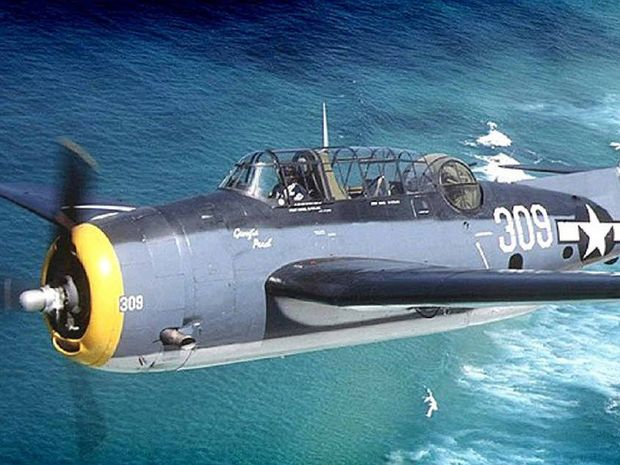 ICONIC: Avenger torpedo bomber.