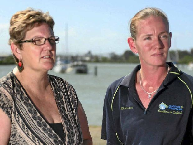 WANT ANSWERS: Toni Seeney and Rhiannon Cherry are trustees of the Gladstone Fishing Research Fund.