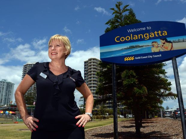 Gail O'Niell, of the Beach House at Coolangatta, is thrilled with high tourist numbers this holiday season.