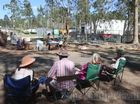 Glenugie CSG site - the day after more than 60 police broke the blockade.