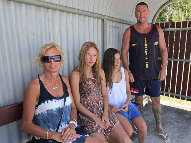 Sue, Taylor, Jade and Warren Thomas of Melbourne have been astounded at the cost of bus fares on the Sunshine Coast.