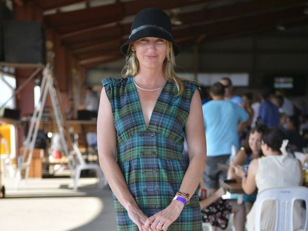 Jo Winters at the Magic Millions Race Day at Ferguson Park.