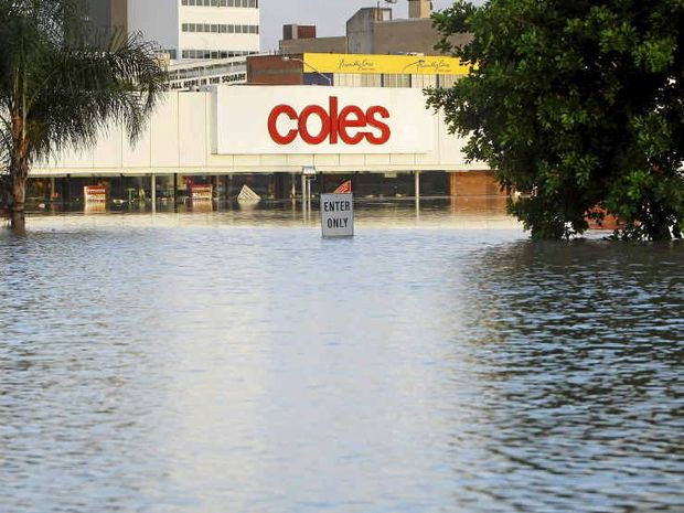 NIGHTMARE: Two years ago Ipswich was hit by rising flood waters. Many residents now cannot afford to insure their homes because of massive increases in premiums.