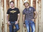 Country music stars McAlister Kemp love their wagons