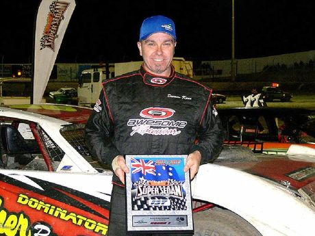 SERIES LEADER: Ipswich driver Darren Kane's top form continued in South Australia and Victoria.
