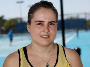 Tennis coach Helen Papaevagelou. Photo Allan Reinikka / The Morning Bulletin