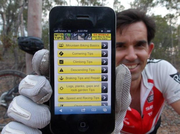 Mountain bikers can now get tips on the go with the introduction of the mtbtips.com mobile website.