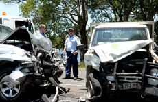 Car crash in Tumbulgum.