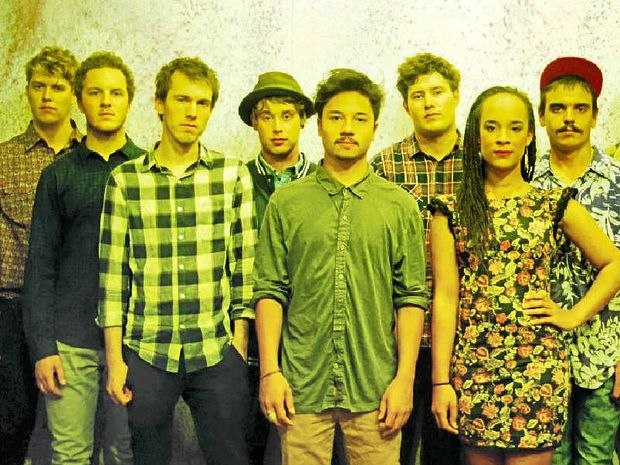 Melbourne-based rockers Saskwatch will play at Yamba's Pacific Hotel on Tuesday night.