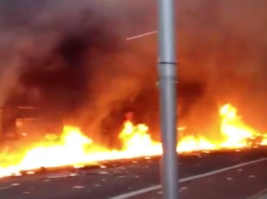 London chopper crash